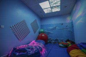 Espace multisensoriel à l'hôpital