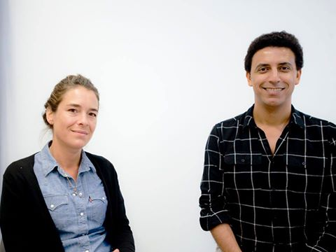 Béatrice Langellier Bellevue et Nizar Mahlaoui