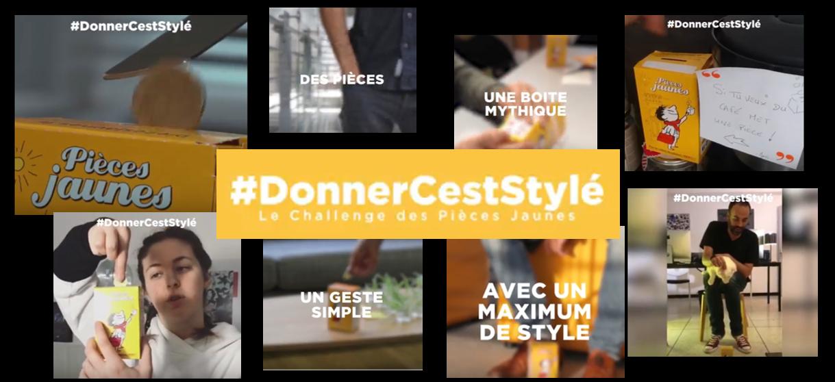 #DonnerCestStylé - Le Challenge Pièces Jaunes 2018