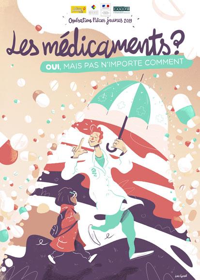 Commandez votre poster pédagogique Pièces Jaunes 2019