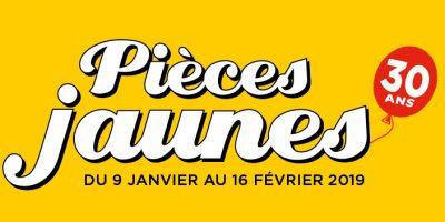 Logo Pièces Jaunes 2019 30 ans