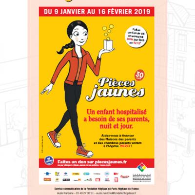 Visuel Dossier de Presse Pièces Jaunes 2019