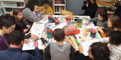 Atelier d'architecture à l'hôpital Necker-Enfants malades