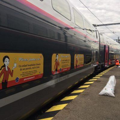 Train Pièces Jaunes 2019