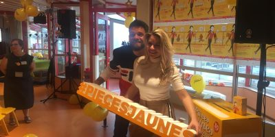 Keen'V et Sophie Tapis pour Pièces Jaunes 2019