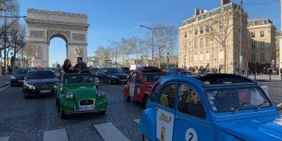 Parade des 2 CV Pièces Jaunes 2019