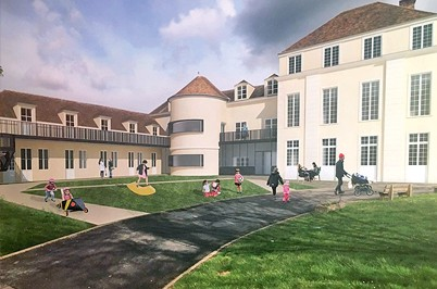 La Maison des Parents de l'hôpital d'Enfants de Margency