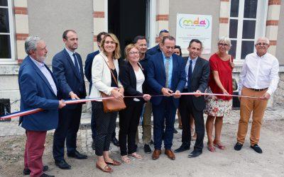 Inauguration de la Maison des adolescents de Blois