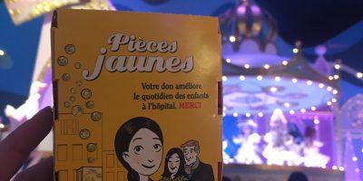 La tirelire Pièces Jaunes est à Disneyland Paris !