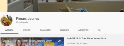 Chaîne Youtube PJ 2020