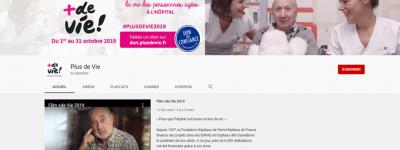 Chaîne Youtube +de Vie