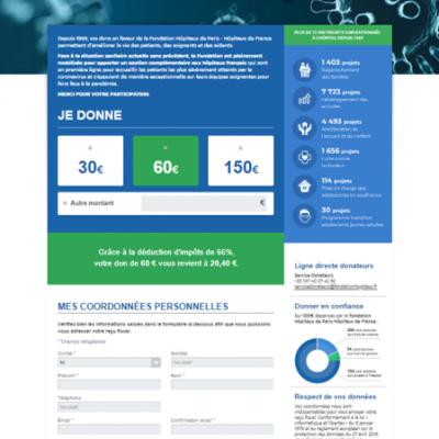 Covid-19 : Faire un don en ligne