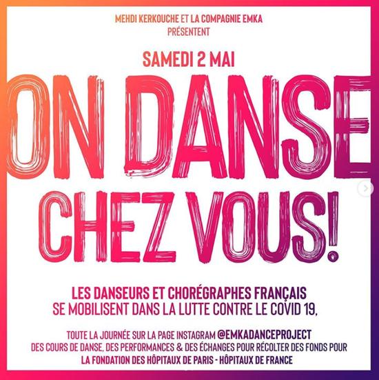 On danse chez vous !