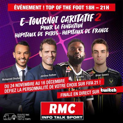 RMC E Tournoi caritatif
