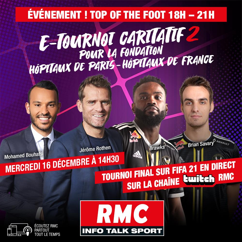 Finale E-Tournoi RMC