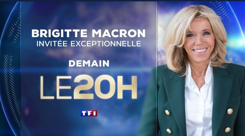 Brigitte Macron 20h TF1