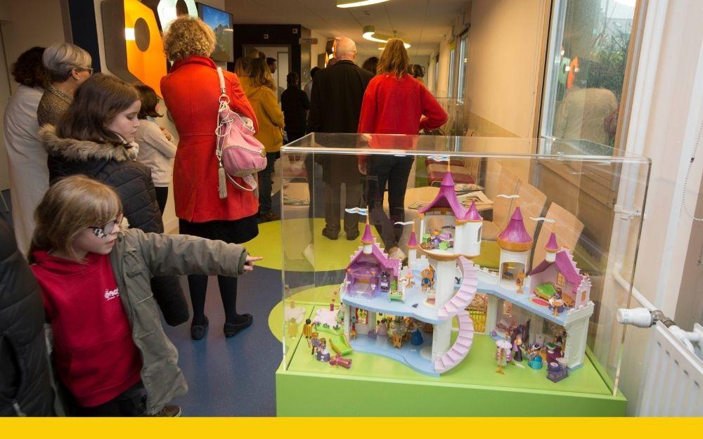 Pieces Jaunes finance projet de réaménagement espace enfant CHRU Bref