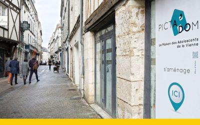 Ouverture maison des ados Poitiers