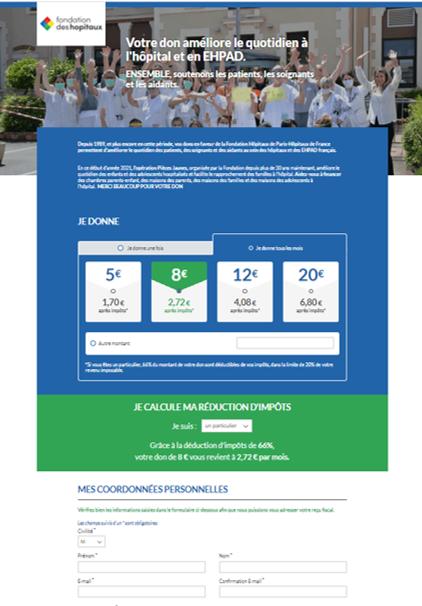 Faire un don par prélèvement automatique en ligne