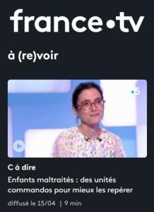 Regardez Céline Greco dans le replay de l'émission C'est-à-dire sur France 5