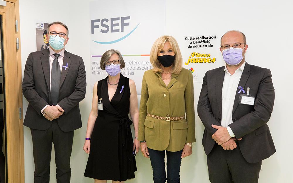 Fondation des Hopitaux - Clinique FSEF - Brigitte Macron