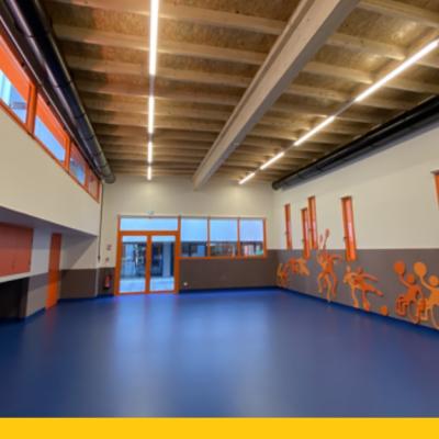 Le pavillon Sport et Santé est un outil qui vise à promouvoir le sport comme technique complémentaire des autres solutions thérapeutiques proposées aux petits patients
